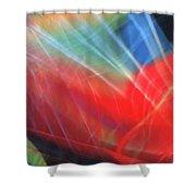 Windblown Dress Shower Curtain
