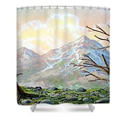 Windblown Shower Curtain