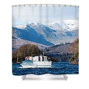 Windermere Cruise Shower Curtain