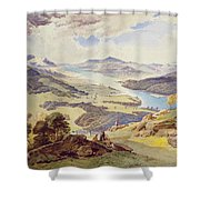 Windermere From Ormot Head Shower Curtain