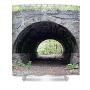 Windham Rail Trail Bridge Shower Curtain