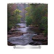 Winding Creek Shower Curtain