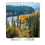 Winding Creek Shower Curtain