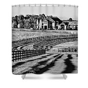 Winding Entrance 2 Shower Curtain