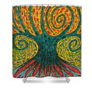 Winding I Shower Curtain