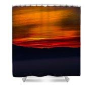 Winding Light Shower Curtain