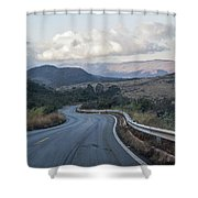 Winding Road Shower Curtain