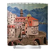 Winding Roads Of Italy Shower Curtain