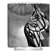 Winding Stairs Shower Curtain