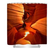 Winding Through Antelope Canyon Shower Curtain