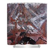 Winding Tower  Shower Curtain