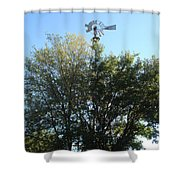 Windmill II Shower Curtain