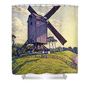 Windmill In Flanders Shower Curtain