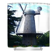 Windmill In Golden Gate Park Shower Curtain