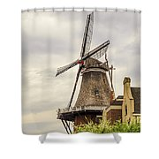 Windmill In The Clouds 2 Shower Curtain