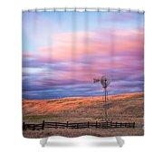 Windmill Le Shower Curtain