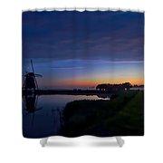 Windmill Pond Shower Curtain