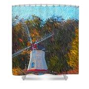 Windmill Series 1102 Shower Curtain