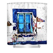 Window 17 Shower Curtain