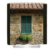 Window #3 - Cinque Terre Italy Shower Curtain