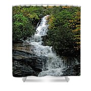 Window At Fall Shower Curtain