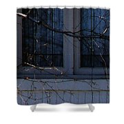 Window Blue - 2 Shower Curtain