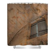 Window In Castillo De San Marcos Shower Curtain