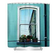 Window In Ennistymon Ireland Shower Curtain