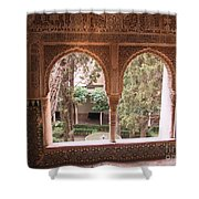 Window In La Alhambra Shower Curtain