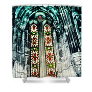 Window In The Lisbon Cathedral Shower Curtain