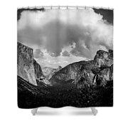 Window Into Yosemite Shower Curtain