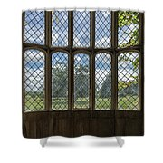 Lacock Abbey Wales Shower Curtain