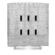 Window Of Lincoln Center, Upper West Side Manhattan Shower Curtain