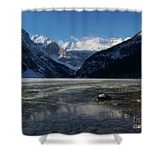 Window On The Lake Shower Curtain
