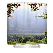 Window On The Paradise Shower Curtain