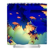 Window On The Undersea Shower Curtain