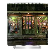 Window Shopping, French Quarter, New Orleans Shower Curtain