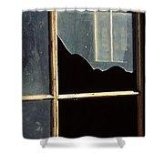 Window. Shower Curtain
