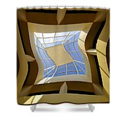 Window To Another Dimension Shower Curtain