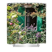 Window To Monet Shower Curtain