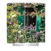 Window To Monet Shower Curtain