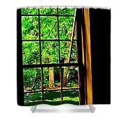 Window To My World Shower Curtain