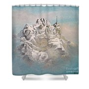 Window To Sky Shower Curtain
