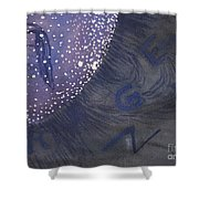 Window To The Core Shower Curtain