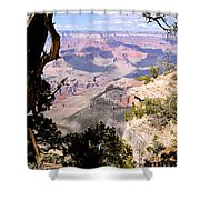 Window To The Past 1 - Grand Canyon Shower Curtain