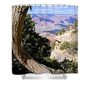 Window To The Past 21 - Grand Canyon Shower Curtain