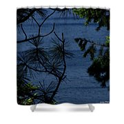 Window To The River Shower Curtain