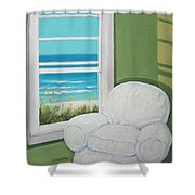 Window To The Sea No. 2 Shower Curtain