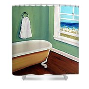 Window To The Sea No. 4 Shower Curtain