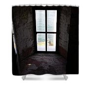 Window To The Sea Shower Curtain
